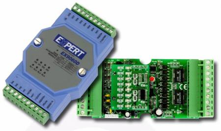 MODBUS-Digitális be-kimeneti modul